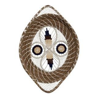 1960s Mid-Century Spun Basket Art For Sale
