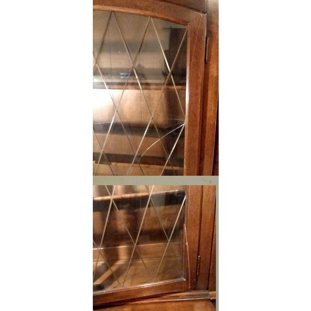 1960s Ethan Allen 6 Piece Bookcase Wall Unit For Sale - Image 9 of 9