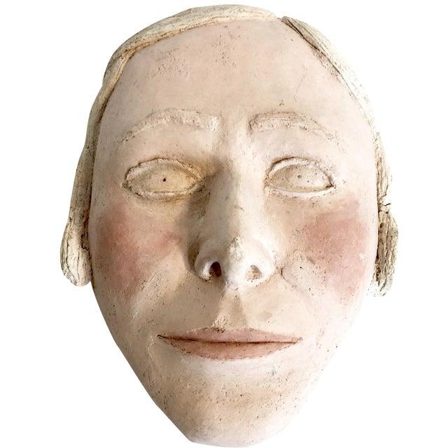 Vintage Terracotta Face Mask - Image 1 of 6