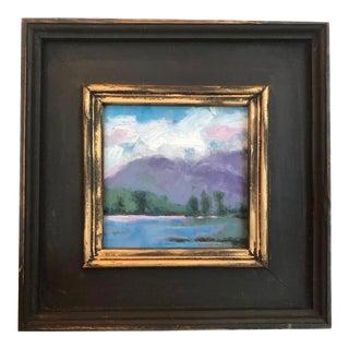 """""""Mount Diablo"""" Plein Air Oil Painting For Sale"""