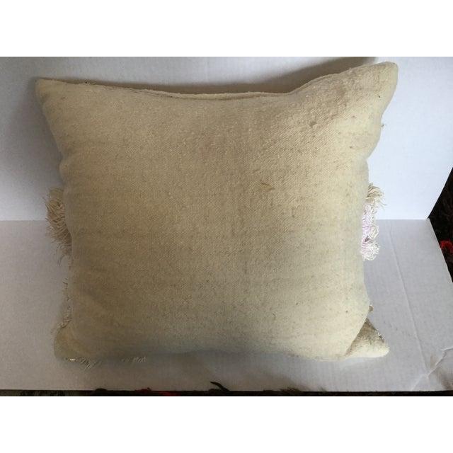 Moroccan Wedding Blanket Pillow - Image 4 of 4