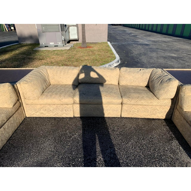 1970s 1970s Milo Baughman Sectional Sofa for Thayer Coggin For Sale - Image 5 of 13