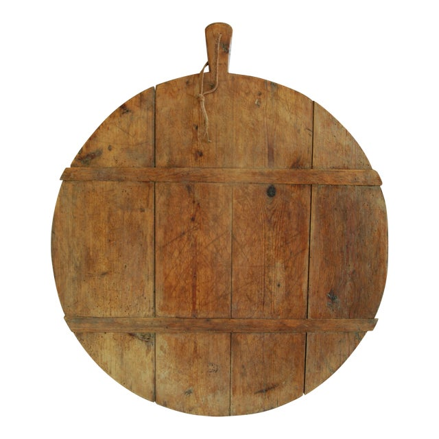 1920s Large French Harvest Bread Cheese Board For Sale
