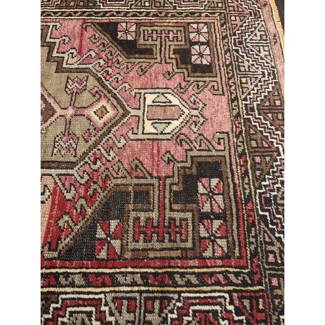 """Bellwether Rugs Distressed Look Vintage Turkish Oushak - 2'11""""x4'7"""" - Image 5 of 11"""