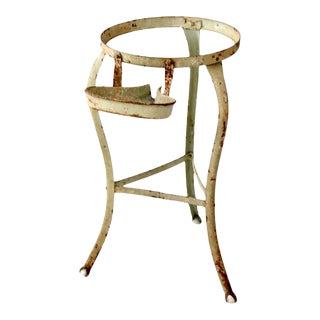 Antique Claw Foot Iron Stand For Sale