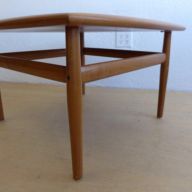 Grete Jalk Eames Era Teak Square End Table - Image 5 of 7