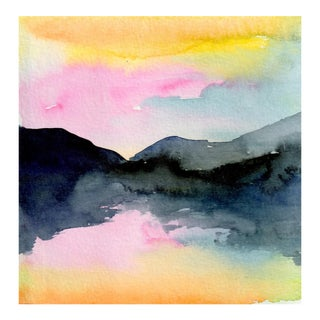 Original Watercolor Painting by Christine Lindstrom