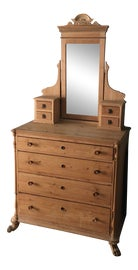 Image of Antique Dressers with Mirrors