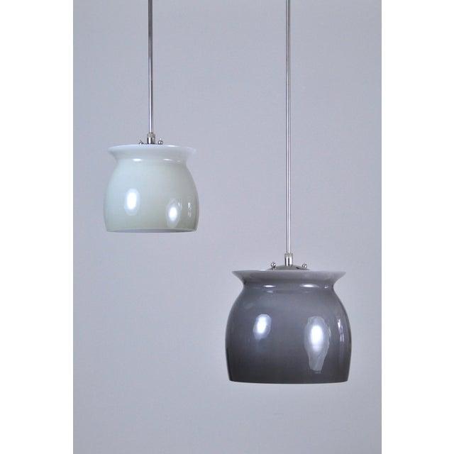 Venini Studio Venini Pivot Pendant Lamp 1960s - Large For Sale - Image 4 of 7