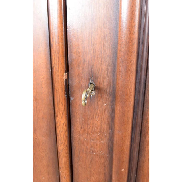 Final Markdown Vintage Ralph Lauren Mahogany Armoire For Sale - Image 5 of 5