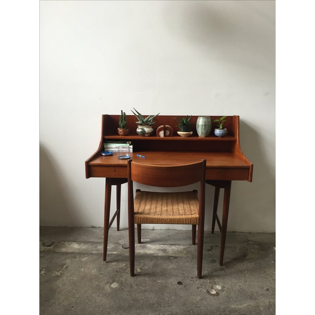 Mid-Century Danish Teak Desk - Image 10 of 11