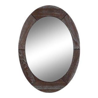 Scandinavian Modern Mirror by Pedersen & Hansen For Sale