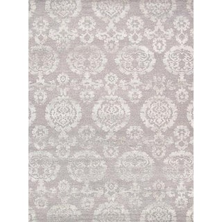 """Pasargad Transitiona Silk & Wool Area Rug- 8' 9"""" X 11' 9"""" For Sale"""