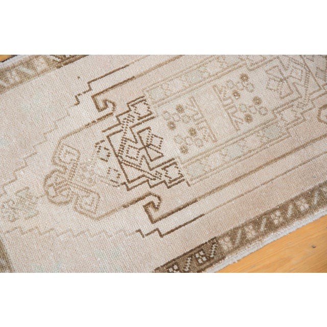 """Islamic Vintage Distressed Oushak Rug - 1'10"""" X 3'3"""" For Sale - Image 3 of 7"""