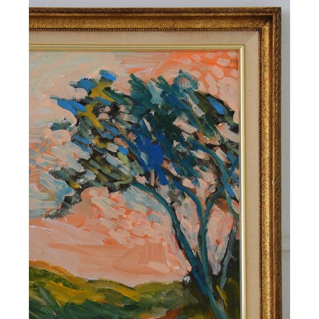 "Original Juan ""Pepe"" Guzman, Ojai California Plein Air Landscape Painting For Sale - Image 4 of 9"