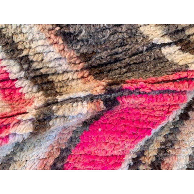 Pastel Berber Moroccan Rugs-5′10″ × 9′4″ For Sale - Image 7 of 9