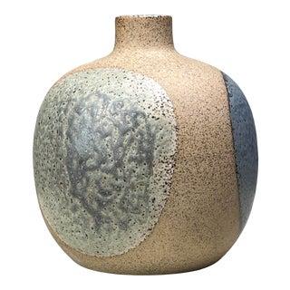 1960s Danish Modern Stoneware Bud Vase For Sale