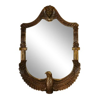 Egyptian Style Mirror For Sale