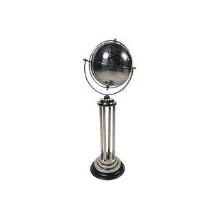 Chrome Globe on Pillars For Sale
