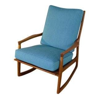 "Milo Baughman for Thayer Coggin ""Archie"" Rocking Chair For Sale"