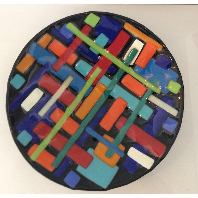 Post Modern Pence Cased Art Glass Bowl - Image 3 of 5