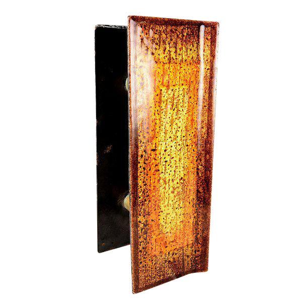 """Enamel on Copper """"Del Campo Studio"""" Italian Door Handles - a Pair For Sale"""