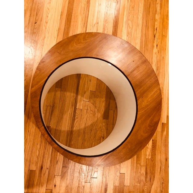 Mid-Century Modern Mid Century George Mulhauser for Plycraft Round Coffee Table For Sale - Image 3 of 5