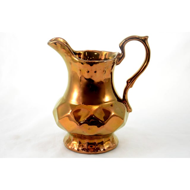 English Copper Luster Jug - Image 6 of 6