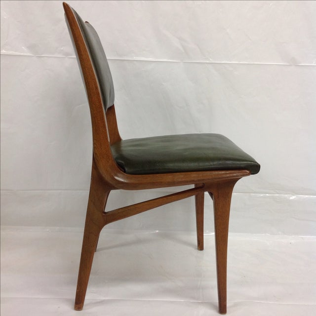 Early John Van Koert for Drexel Walnut Chair - Image 2 of 4