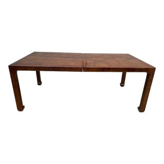 Late 20th Century Henredon Ming Style Mahogany Dining Table For Sale