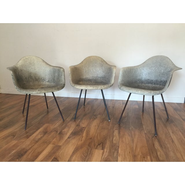 Eames Shell Arm Chairs - Set of 3 - Image 2 of 10