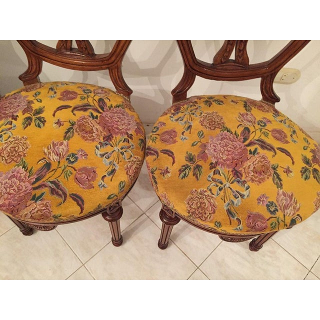 1920s Louis XVI French Dining Chairs - Set of 6 For Sale - Image 5 of 8