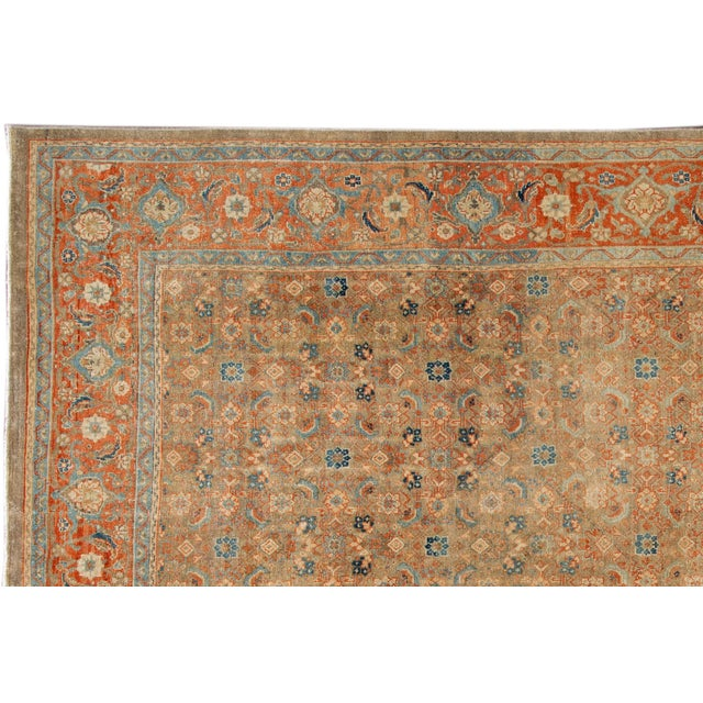 Vintage hand-knotted Persian rug. This one of a kind piece has great colors and a beautiful all over design. It would be...