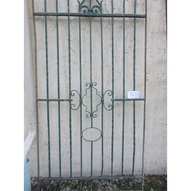 Antique Victorian Iron Gate - Image 6 of 8