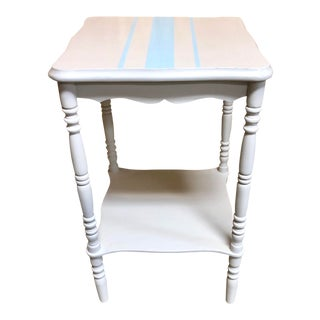 1940 Shabby Chic Side Table For Sale