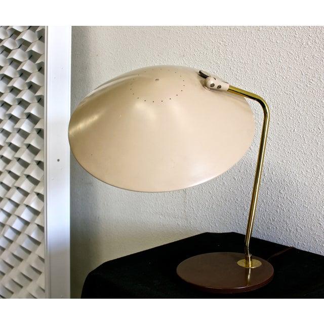 Gerald Thurston for Lightolier Dome Desk Lamp - Image 5 of 5