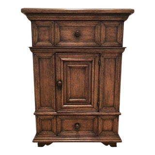 Beautiful Wood Cabinet by Collection Reproductions For Sale
