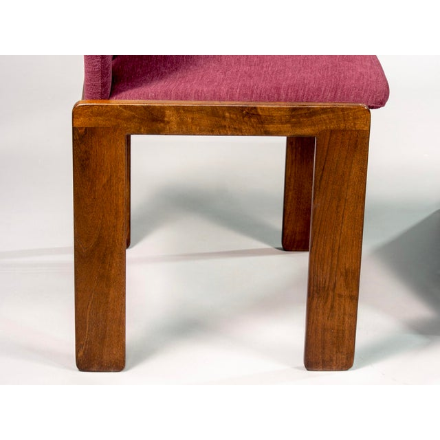 Afra and Tobia Scarpa 121 Walnut Dining Chairs for Cassina, Set of 8 For Sale - Image 9 of 11