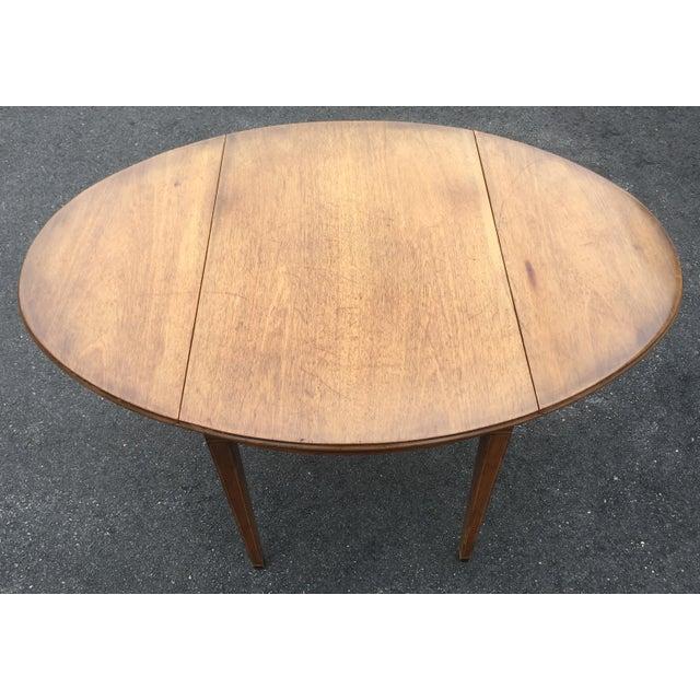 Kittinger Antique Drop Leaf Side Table Dining