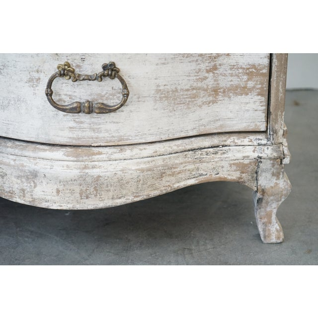 Wood Antique French Painted Chest For Sale - Image 7 of 8