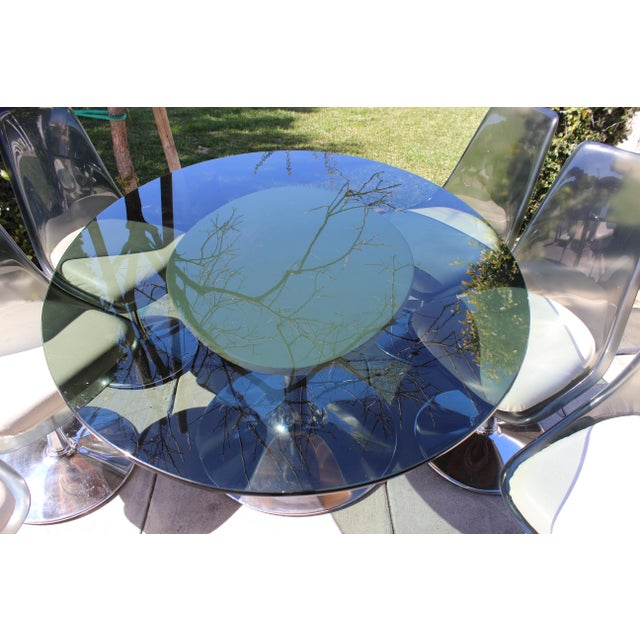 1970s 1970s Vintage Chromecraft Space Age Dining Set For Sale - Image 5 of 6