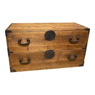 French Country Style Storage Chest For Sale