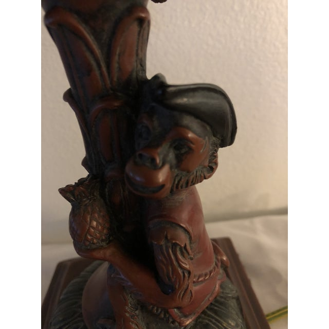 Boho Chic Vintage Pirate Monkey Lamp by Berman For Sale - Image 3 of 4