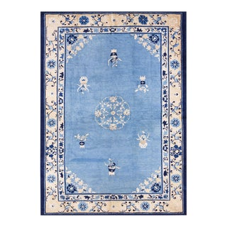 """Antique Chinese Peking Rug 6'0"""" X 8'6"""" For Sale"""