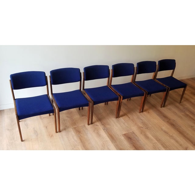 1960s Danish Rosewood Dining Chairs - Set of 6 For Sale - Image 13 of 13
