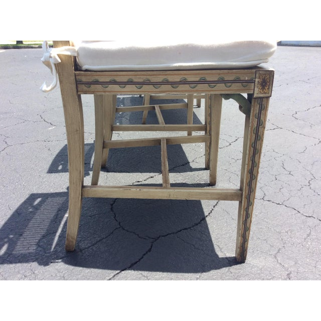 1920s French Country Wicker Dining Chairs - Set of 6 For Sale - Image 12 of 13