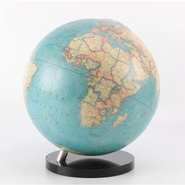 Lucite 1970's Vintage Lucite Globe For Sale - Image 7 of 7