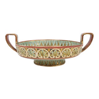 Deruta Pottery Center Piece Bowl For Sale