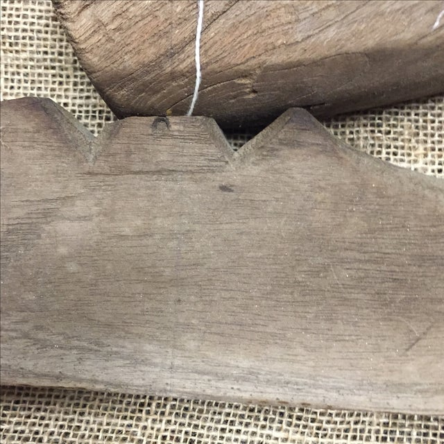 Antique Rustic Wooden Yoke - Image 5 of 5