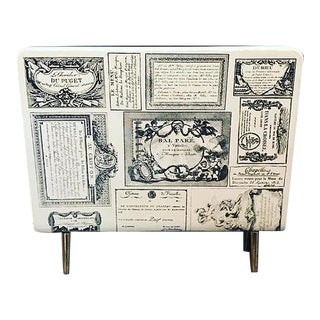 Early Fornasetti Magazine Holder For Sale